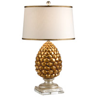 Wildwood Lamps Pigna Table Lamp in Antique Gold Leaf 27501-2