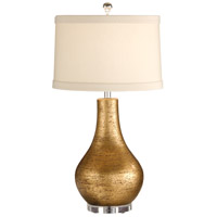 Wildwood Lamps Moderno Table Lamp in Gold On Terra Cotta 27504
