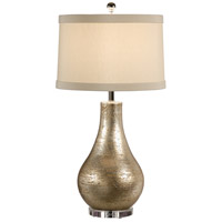 Wildwood Lamps Moderno Table Lamp in Old Silver Hand Finished 27505