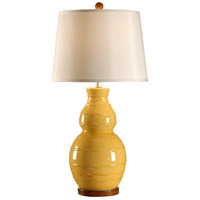 Wildwood Lamps Italia 1 Light Noli Lamp Hand Glazed Table Lamp in Yellow 27540 photo thumbnail
