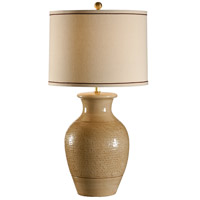 Wildwood Lamps Italia 1 Light Emilia Lamp Hand Thrown And Textured Table Lamp in Euro Ceramic 27546