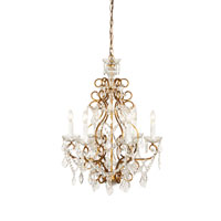 Wildwood Lamps Crystal Rope Chandelier in French Gold 2826