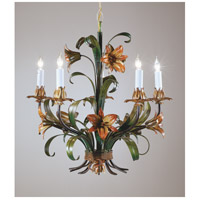 Wildwood Lamps Painted Iron Chandelier in Handmade And Hand Finished 2872 photo thumbnail