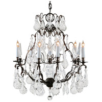Wildwood Lamps Crystals N Bronze Chandelier in Handmade And Finished With Bronze 2875
