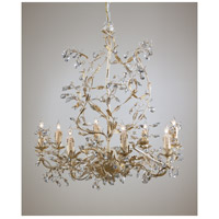 Wildwood Lamps Million Crystals Chandelier in Handmade And Finished Tuscan Iron 2877