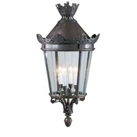 Bronze 4 Light 20 inch Bronze Lantern Ceiling Light