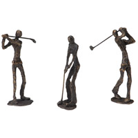 Casual Old Bronze Bookends