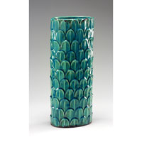 Wildwood Lamps Casual Antique Crackle Glaze Vase (Umbrella Stand) - Hand Finished Ceramic 292434