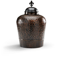 Wildwood Lamps High Country Hammered Cannister Old Bronze Finish Decorative Accessory in Old Bronze 292458