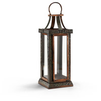 Wildwood Lamps Casual Lantern (Large) Brass And Aluminum Decorative Accessory in Old Verdi 292473