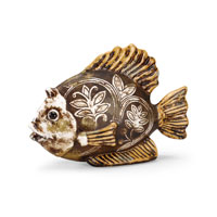 Wildwood Lamps Casual Fun Fish Decor Accessory in Antique Patina 292502