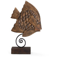 Coastal Hand Carved Mango Wood Wooden Accessory