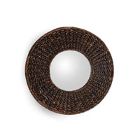 Wildwood Lamps Coastal Grass Frame Mirror in Hand Woven Grass 292528