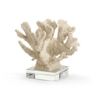 Wildwood Lamps Coastal Coral Specimen Decor Accessory with Crystal Base 292533