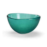 Coastal Glass Bowl Glass Accessory