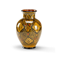 Wildwood Lamps Casual Fat Vase in Hand Made and Decorated Pottery 292579 photo thumbnail