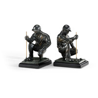 Wildwood Lamps Golfer Bookends (Pair) 293562