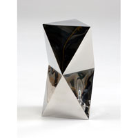 Wildwood Lamps Decorum by Mary Taylor Hand Formed Triad Accent Table - Polished Stainless 294238 photo thumbnail