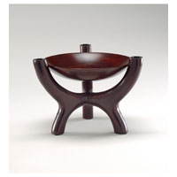 Wildwood Lamps Decorum by Mary Taylor Hand Made And Finished Tree Form Bowl - Wood 294264