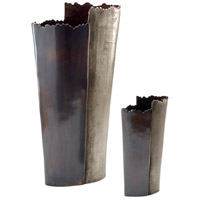 Wildwood Lamps Decorum by Mary Taylor Jumbo Vase (Set 2) Aluminum Decorative Accessory in Copper And Bronze 294377