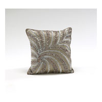 Decorum by Mary Taylor 12 inch Ash Brown Pillow