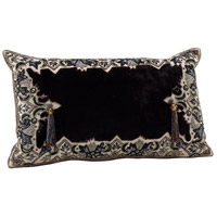 Wildwood Lamps Decorum by Mary Taylor Embellish Leaf Border Pillow Decorative Accessory 294722