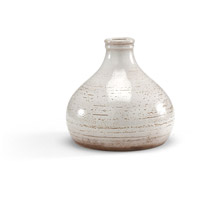Wildwood Lamps Italia Mangani 25in Vase Decorative Accessory in Scavo Glaze In White 295186