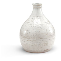 Wildwood Lamps Italia Mangani 36in Vase Decorative Accessory in Scavo Glaze In White 295188