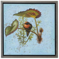 Songbirds Silver Frame Oil Painting