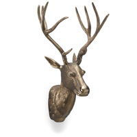 Deer Park Antique Brass Wall Accent