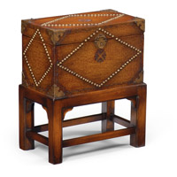 Wildwood Lamps 300071 Studded Hand Antiqued Leather Box