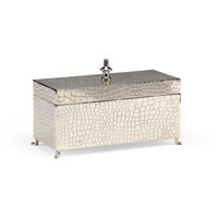 WM 9 X 4 inch Hand Made And Nickel Plated Footed Box