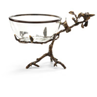 Wildwood Lamps Miscellaneous Hummingbirds On Branch Cast Brass With Old Bronze Patina Decorative Accessory in Old Bronze Patina 300517