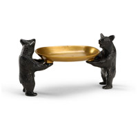 High Country Solid Cast Brass Tray