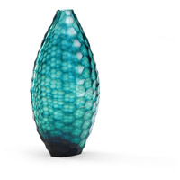 Wildwood Lamps 300534 Discovery Blue Cut Glass Accessory