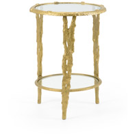 Woody 18 inch Old Gold End Table