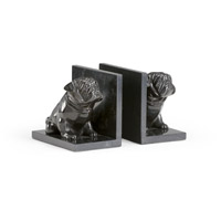 Dog Bookends, Set of 2