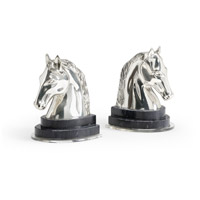 Wildwood Lamps Horse Bookends (Pair) 300754