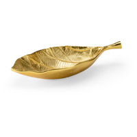 Wildwood 300953 Magnolia Bright Gold Tray, Large