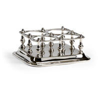 Signature Polished Nickel Wine Caddy
