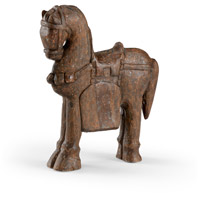 Dynasty Wood Horse Sculpture