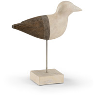 Shorebird Mango Wood Bird Sculpture, Small