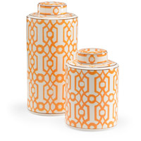 Orange 16 X 7 inch Canister
