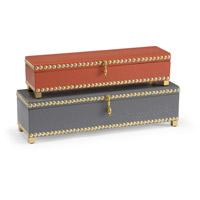 Wildwood Lamps 301079 Signature Faux Cobra Skin Treasure Box