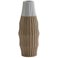 Nutmeg Grey And Nutmeg Glaze Potters Vase