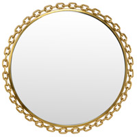 Loughton 28 X 28 inch Gold Plated Mirror Home Decor