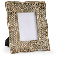 Zuma Champagne and Clear Photo Frame, Large