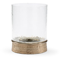 Wildwood Lamps 301169 Zuma 14 inch Champagne and Clear Hurricane Portable Light