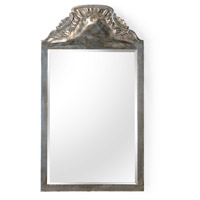 Loire Chateau 51 X 28 inch Antique Silver Leaf and Beveled Mirror Mirror Home Decor