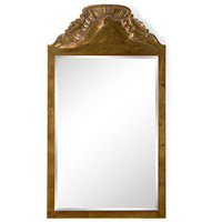 Loire Chateau 51 X 28 inch Antique Gold Leaf and Beveled Mirror Mirror Home Decor
